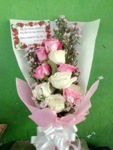 Memilih Bunga Untuk Kekasih