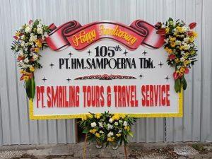bunga papan anniversary