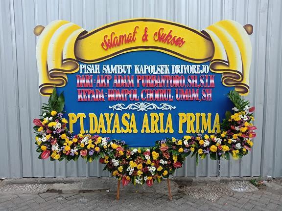 papan bunga selamat sukses surabaya