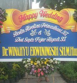 Papan Bunga Pernikahan Graha YKP