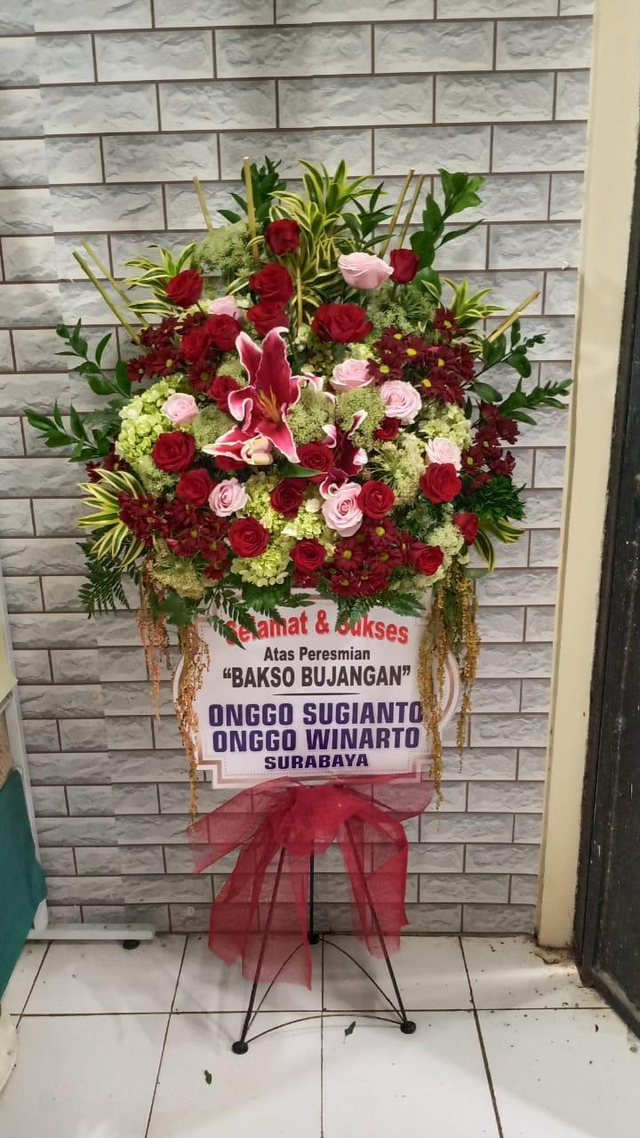 bunga standing congratulations surabaya