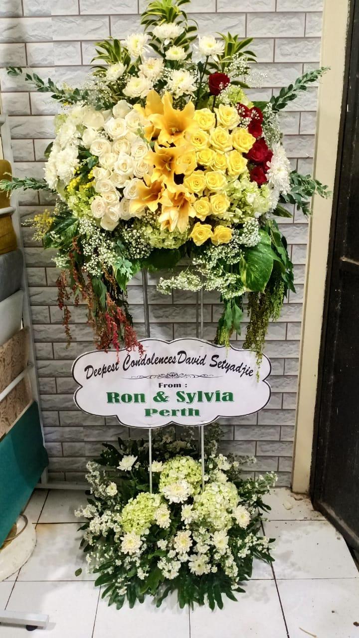 standing flower surabaya