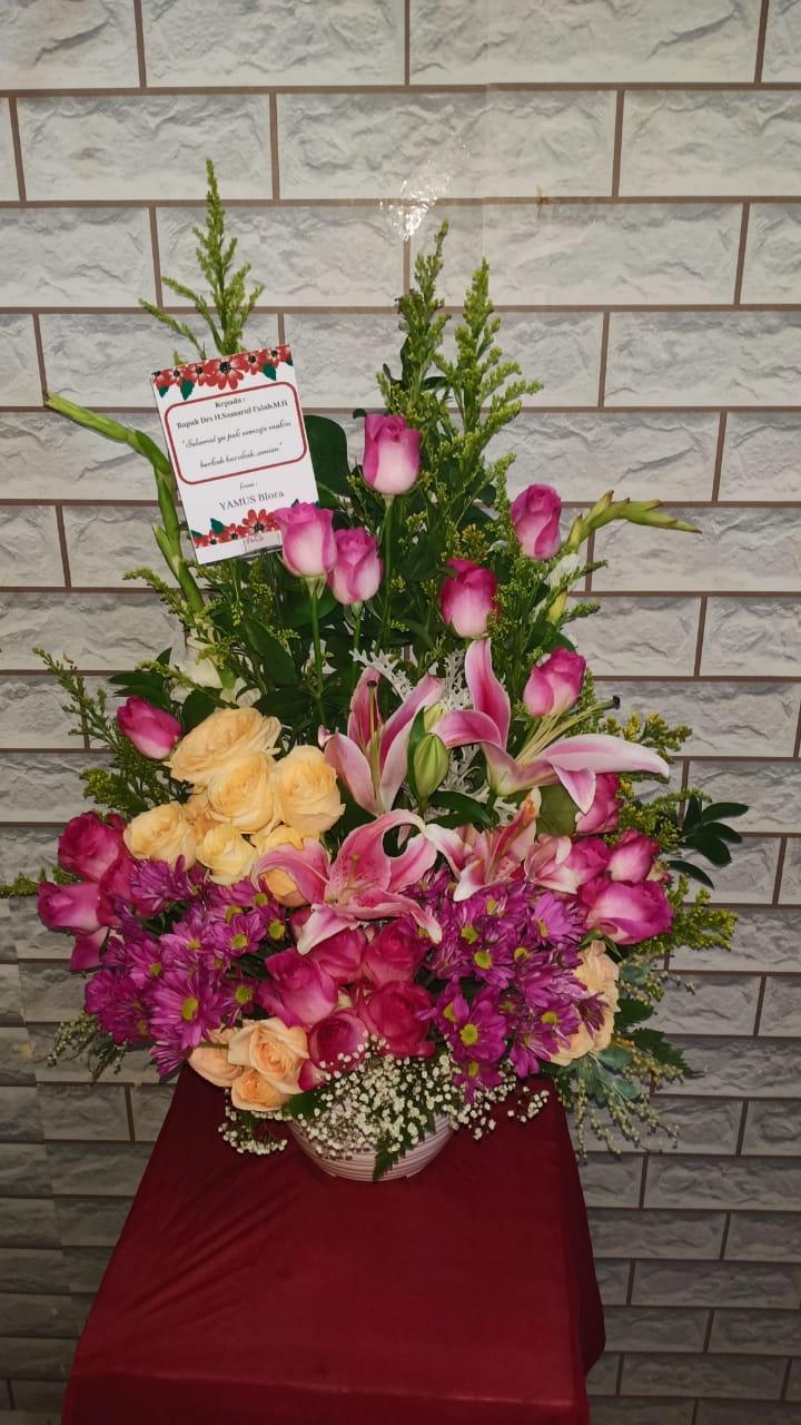 bunga meja di surabaya