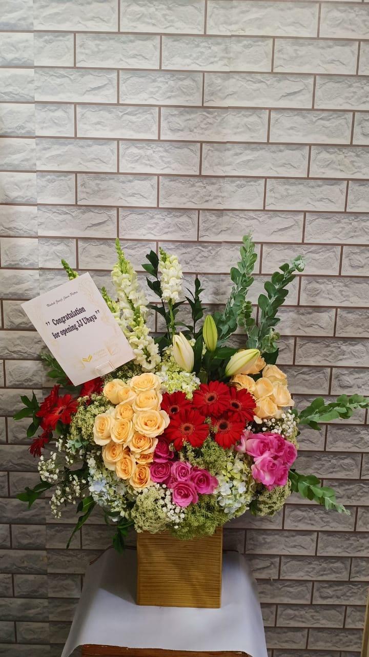 bunga meja murah surabaya