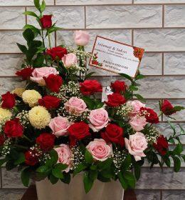 bunga meja surabaya