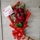 bunga tangan surabaya